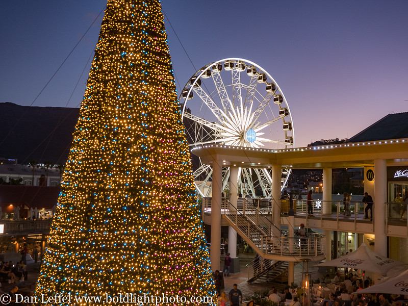 South Africa Cape Town Table Bay Ferriswheel