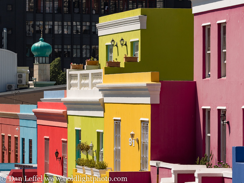 Cape Town South Africa Bo-Kaap Area