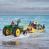 South Africa Arniston Seaport Launching Fishing Boats