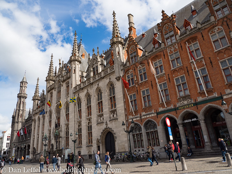 Bruges Belgium Main Square Architecture