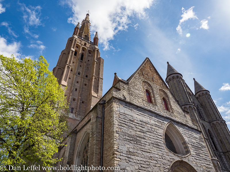Bruges Belgium Church of Our Lady