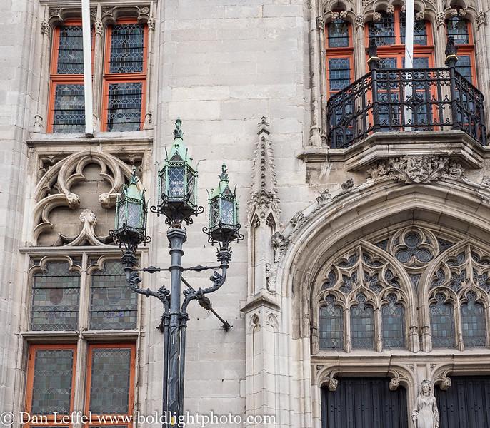 Bruges Belgium Main Square Architecture