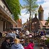 Bruges Belgium Outdoor Restaurant