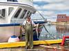 Bonavista Newfoundland Harbour Cod Fisherman