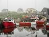 Peggy's Cove Nova Scotia Foggy Morning