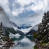Canadian Rockies Lake Louise Winter