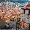 Dubrovnik Croatia View of Old Town from Medieval Wall
