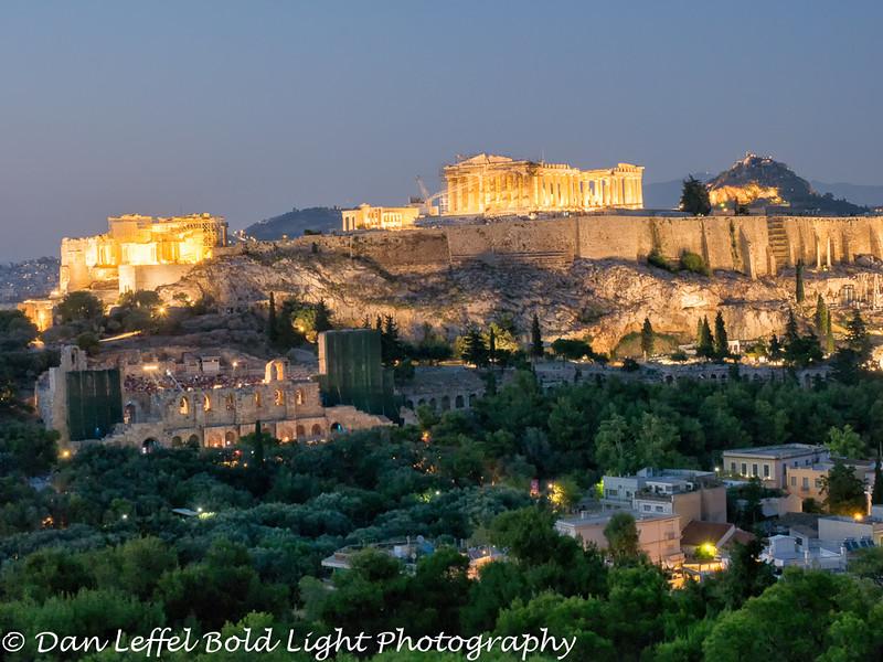 Parthenon Sunset