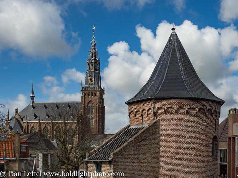 Noord Holland Rural Village Church