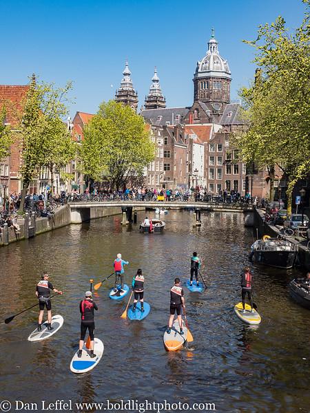 Amsterdam Canal Paddleboard