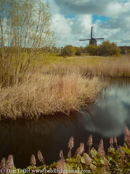 Noord Holland Rural Windmill