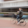 Noord Holland Rural Bicycle Rider