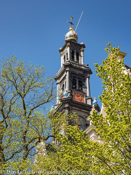 Amsterdam Westerkerk Steeple