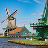 Zaanse Schans Working Windmills
