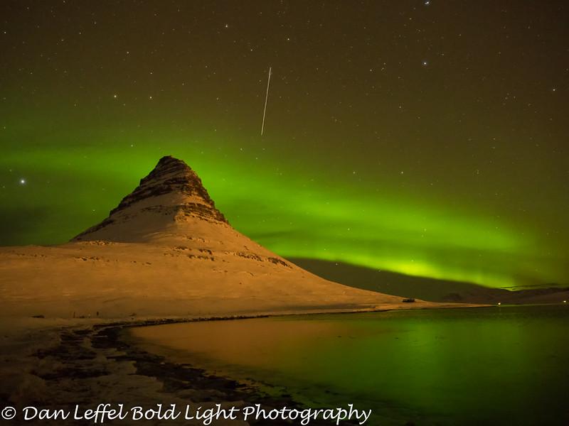 Iceland Kirkjufell Northern Lights