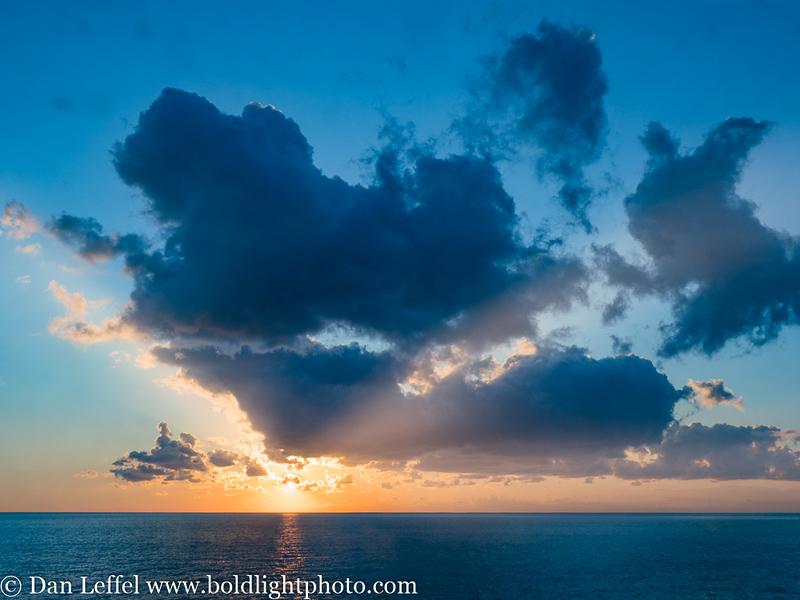 Italy Cinque Terre Sunset