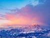 Italy Winter Dolomite Mountains