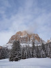 Italy Winter Dolomite Mountains