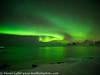 Lofoten Norway Winter Northern Lights Aurora