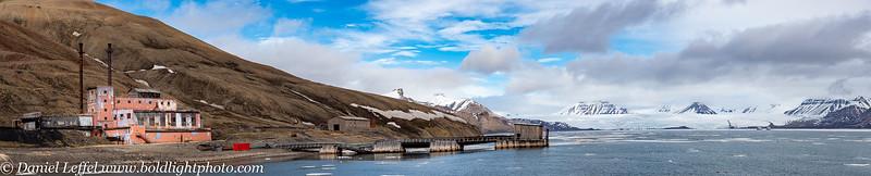 Svalbard Norway Russian Mining Town Pyramiden