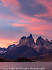 Patagonia Chile Torres  del Paine Sunset