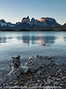 Patagonia Chile Torres  del Paine Lago Pehoe and Cuenos Sunset