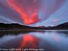 Patagonia Argentina Brilliant Red Sunrise