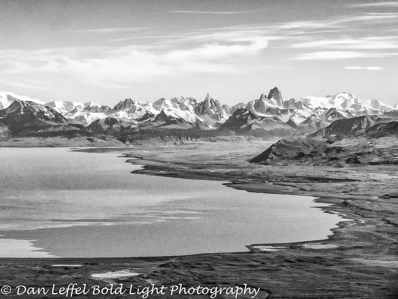 Landing at El Calafate Patagonia Argentina