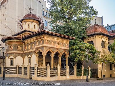 Stravopoleos Monastery Bucharest Romania