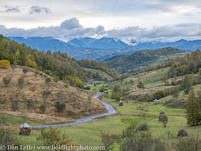 Carpathian Mountains Maramures Romania