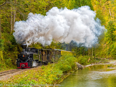 Carpathian Forest Steam Train Romania
