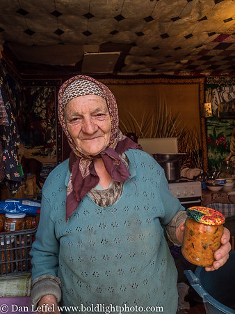 75 Year Old Iona Buchovina Romania