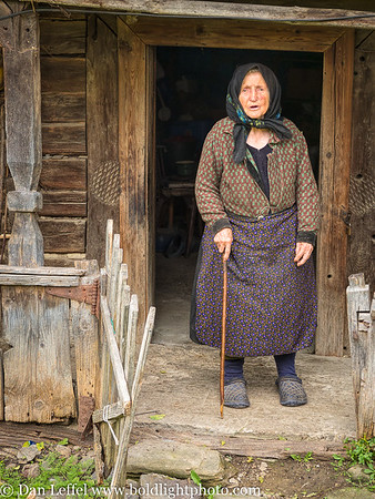 93 Year Old Maria Maramures Romania