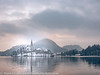 Slovenia Winter Lake Bled