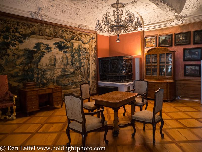 Slovenia Village of Ptuj Castle Inside