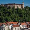 Slovenia Ljubljana Fortress Castel