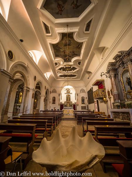 Slovenia Coast City of Piran Church of St Francis