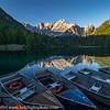 Slovenia Julian Alps Lake Reflection