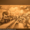 Slovenia Ljubljana Train Museum Art