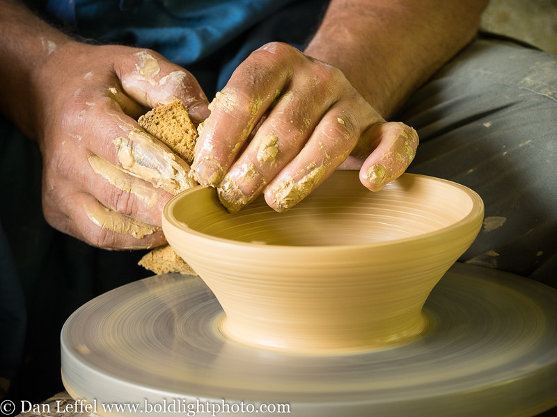 Slovenia Pottery Maker Hands