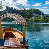 Slovenia Lake Bled Island with Gondola