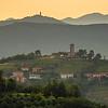 Slovenia Goriska Brda Wine Country Sunrise