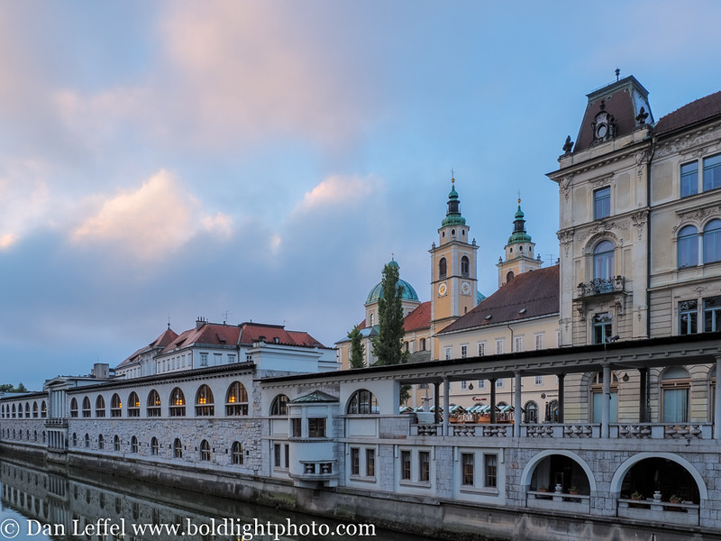 Slovenia Ljubljana Sunrise
