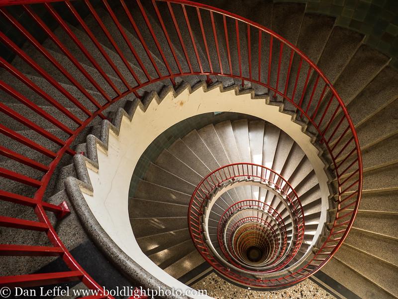 Slovenia Ljubljana Spiral Staircase