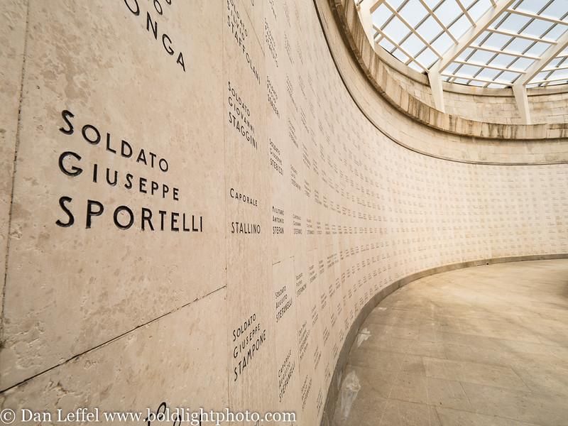 Italy Oslavia World War I Memorial