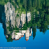 Slovenia Lake Bled Castle Reflection