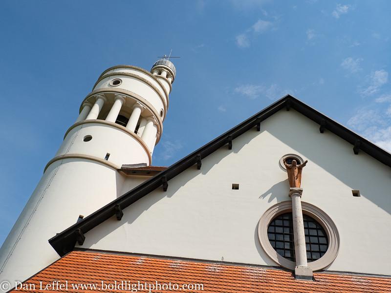 Slovenia Sacred Heart of Jesus Church by Architect Jozef Plecnik