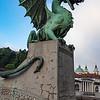 Slovenia Ljubljana Plecnik Dragon