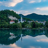 Slovenia Lake Bled Reflection