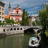 Slovenia Ljubljana Plecnik Bridge